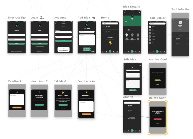 Build Anything app in Adalo Layout